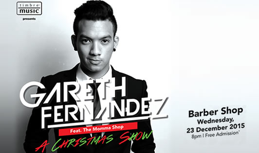 GARETH FERNANDEZ FEAT. THE MOMMA SHOP – A CHRISTMAS SHOW