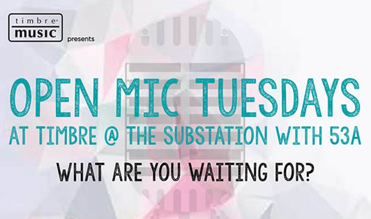 53A Open Mic Tuesdays