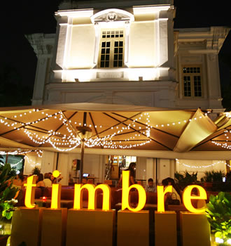 Timbre art house band