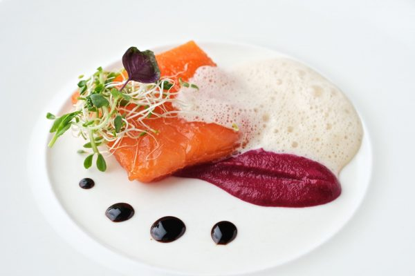 Slow Poached Salmon